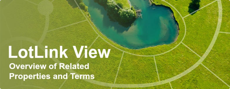 LotLink View for Related Properties and Sale Terms