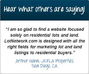 Testimonial for selling land on LotNetwork